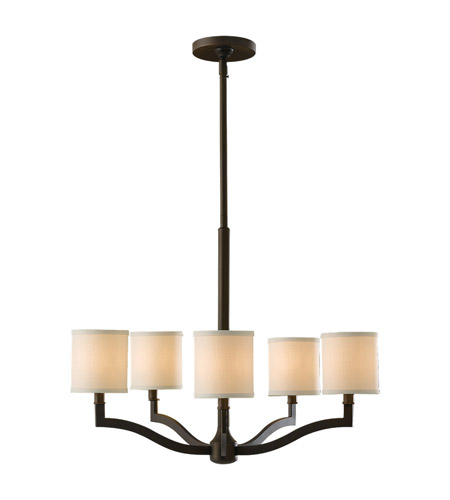 Feiss F2519/5ORB Stelle 5 Light 26 inch Oil Rubbed Bronze Chandelier Ceiling Light photo
