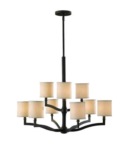 Feiss F2520/6+3ORB Stelle 9 Light 31 inch Oil Rubbed Bronze Chandelier Ceiling Light photo