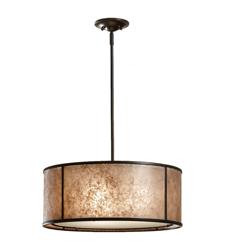 Feiss F2639/3LAB Taylor 3 Light 20 inch Light Antique Bronze Chandelier Ceiling Light in Standard photo