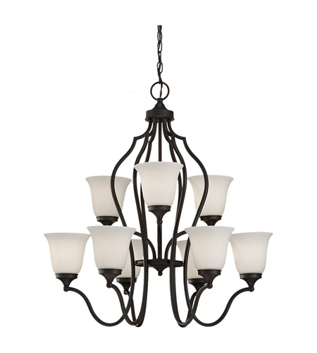 Feiss Beckett 9 Light Chandelier in Oil Rubbed Bronze F2651/6+3ORB photo