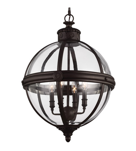 Murray Feiss Fusion Collection: Feiss F2931/4ORB Adams 4 Light 20 Inch Oil Rubbed Bronze