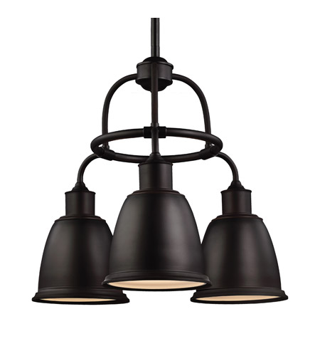 Feiss F3022 3orb La Hobson Led 22 Inch Oil Rubbed Bronze