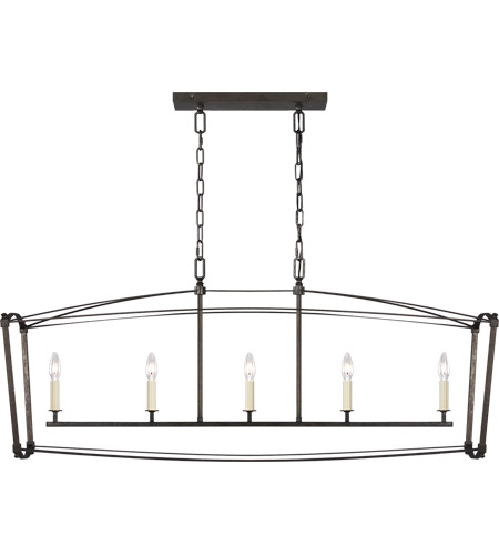 Feiss Smith Steel Thayer Chandeliers