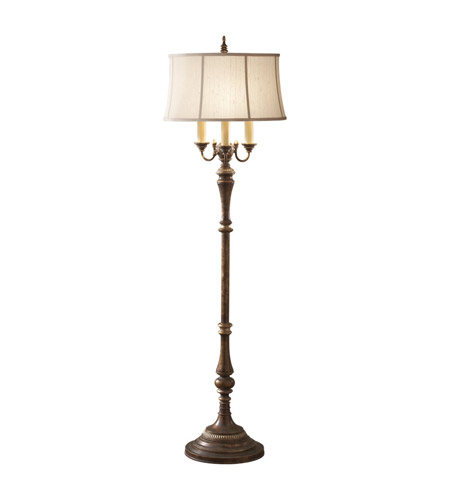 Feiss Gibson 4 Light Floor Lamp in Cambridge Crackle FL6259CAC photo