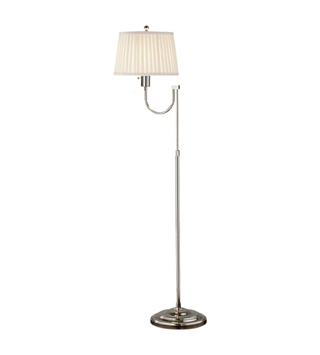 Feiss Plymouth 1 Light Floor Lamp in Polished Nickel FL6288PN photo