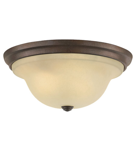 Feiss Vista 3 Light Flush Mount in Corinthian Bronze FM252CB photo