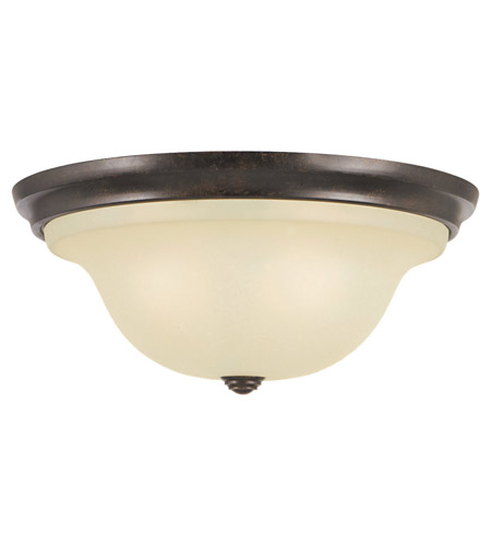 Feiss FM252GBZ Morningside 3 Light 15 inch Grecian Bronze Flush Mount Ceiling Light in Standard, Cream Snow Glass photo