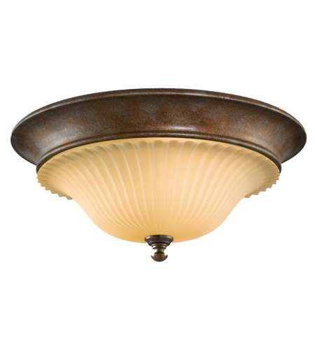 Feiss Somerset 3 Light Flush Mount in British Bronze FM278BRB photo