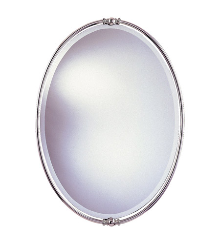 Feiss New London Mirror in Polished Nickel MR1044PN photo