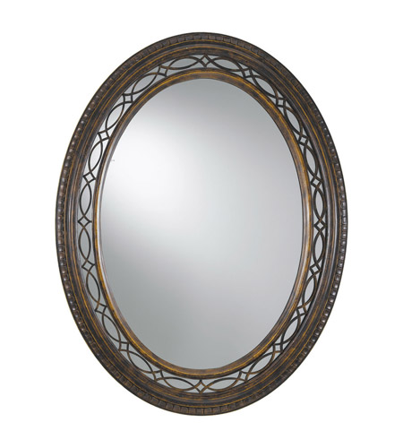 Feiss Drawing Room Mirror in Walnut MR1066WAL photo
