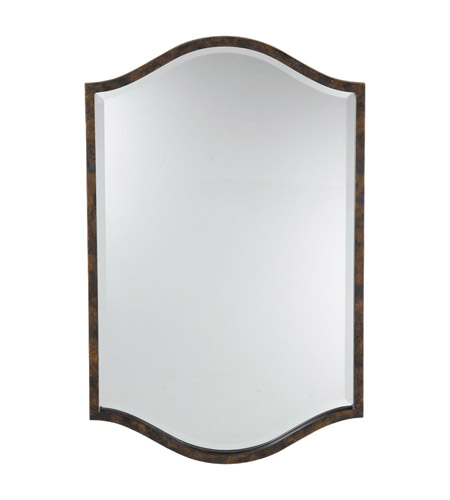 Feiss Drawing Room Mirror in Walnut MR1077WAL photo