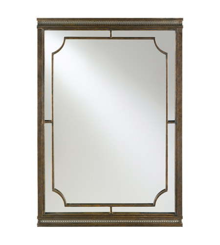 Murray Feiss Mirrors: Feiss MR1082FG Parisienne Parlor 42 X 28 Inch Firenze Gold