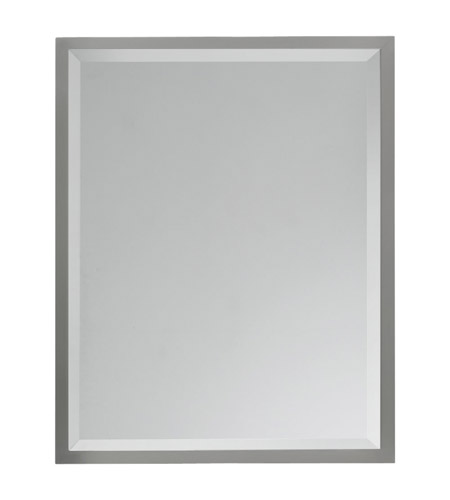Feiss MR1093BS Hallie 30 X 24 inch Brushed Steel Mirror Home Decor photo