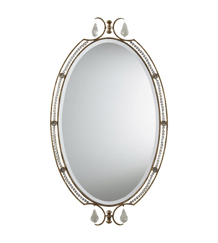 Feiss Valentina Mirror in Oxidized Bronze MR1106OBZ photo