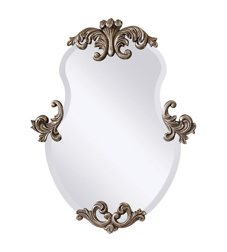 Feiss Venice Mirror in Antiqued Silver Leaf MR1112ASL photo