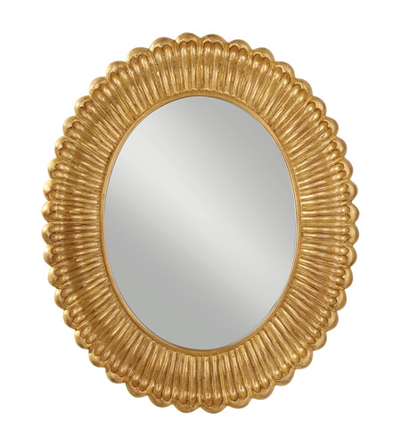 Feiss Emmet Mirror in Pale Antique Gold MR1118PAG photo