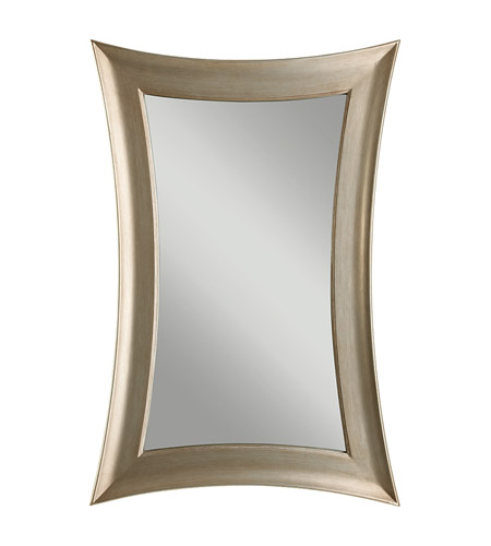 Feiss Georgette Mirror in Antique Silver Leaf MR1122ASLF photo