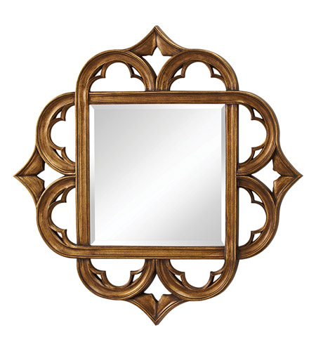 Feiss Carolyn Mirror in Antique Gold MR1133AGD photo