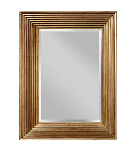 Feiss MR1134SVSD Stepped 40 X 30 inch Silver Sand Wall Mirror Home Decor photo