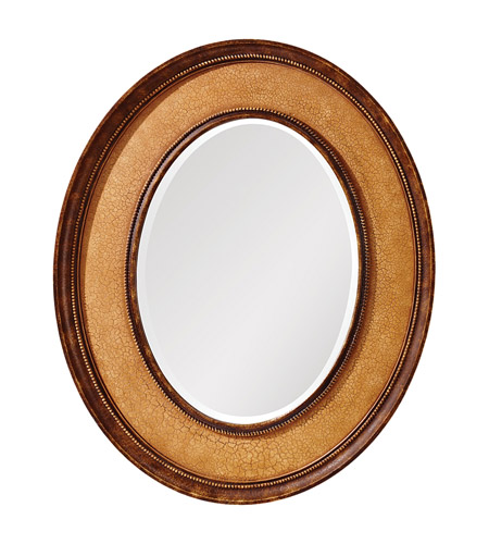 Feiss Evelyn Mirror in Ivory Crackle MR1135IC photo