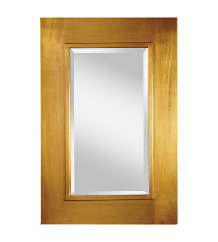 Feiss Smythe Mirror in Antique Gold MR1140AGD photo