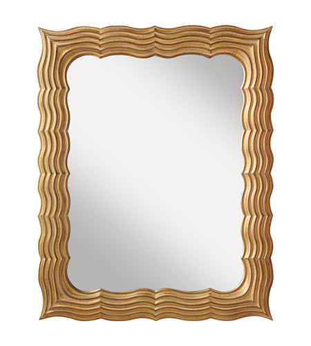 Feiss Lavine Mirror in Antique Gold MR1147AGD photo