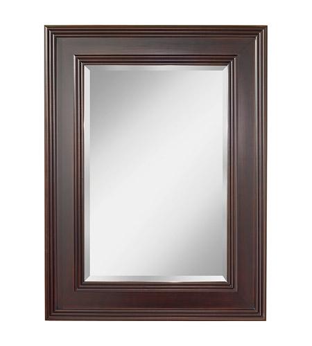 Feiss mr1157es eleanor 48 x 36 inch espresso wall mirror for Mirror 48 x 36