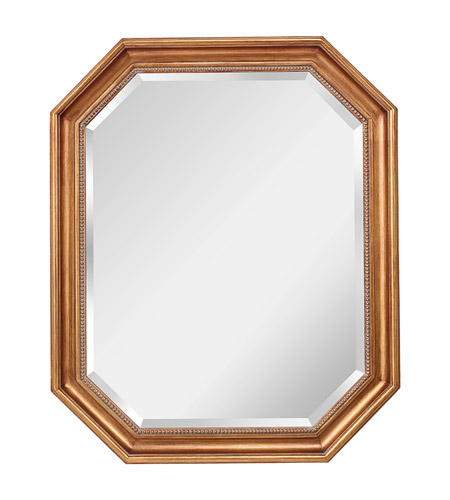 Feiss Marisa Mirror in Dark Antique Gold MR1161DAG photo