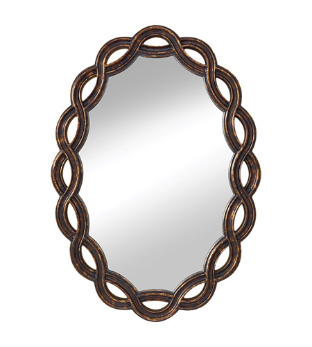 Feiss MR1163GEBY Charmed 34 X 24 inch Golden Ebony Wall Mirror Home Decor photo