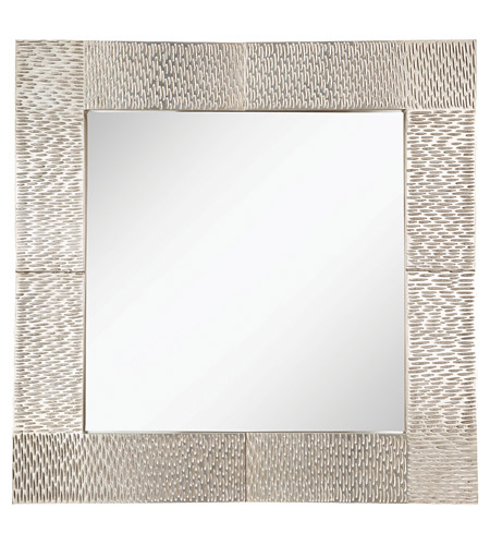 Feiss Raphael Mirror in Silver Leaf MR1171SL photo