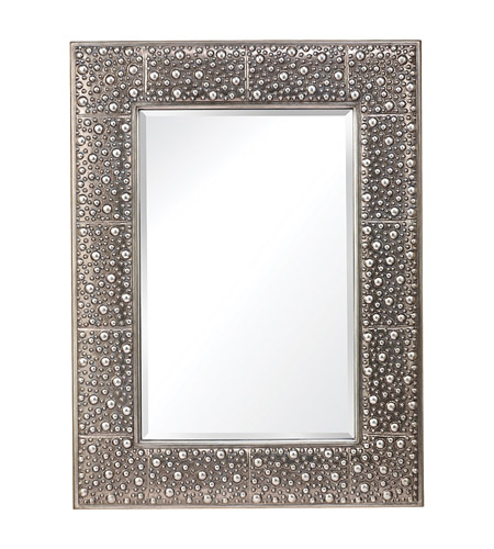 Feiss Danby Mirror in Rustic Silver MR1175RUS photo