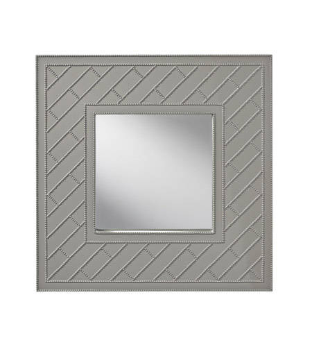 Feiss Trellis Mirror in High Gloss Grey MR1182HGG photo