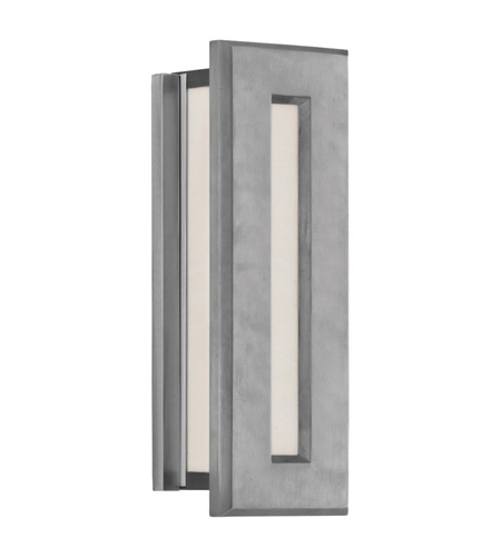 Feiss Chameleon 2 Light Outdoor Wall Bracket in Brushed Aluminum ODWB4320BRAL photo