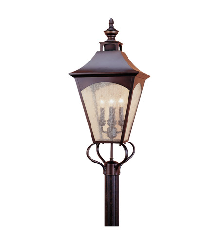 Feiss Homestead 4 Light Post Lantern in Oil Rubbed Bronze OL1008ORB photo