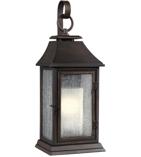 Feiss OL10601HTCP Shepherd 1 Light 19 inch Heritage Copper Outdoor Wall Sconce photo
