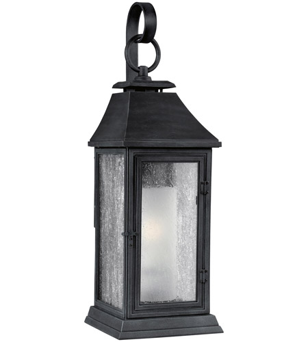 Feiss OL10602DWZ Shepherd 1 Light 26 inch Dark Weathered Zinc Outdoor Wall Sconce photo