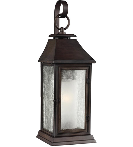 Feiss OL10602HTCP Shepherd 1 Light 26 inch Heritage Copper Outdoor Wall Sconce photo
