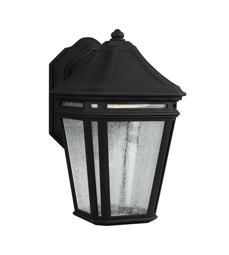 Feiss OL11300BK-LED Londontowne 1 Light 11 inch Black Outdoor Wall Sconce in Integrated LED  photo