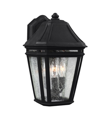 Feiss OL11301BK Londontowne 3 Light 14 inch Black Outdoor Wall Sconce photo thumbnail