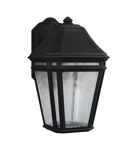 Feiss OL11301BK-LED Londontowne 3 Light 14 inch Black Outdoor Wall Sconce in Integrated LED  photo