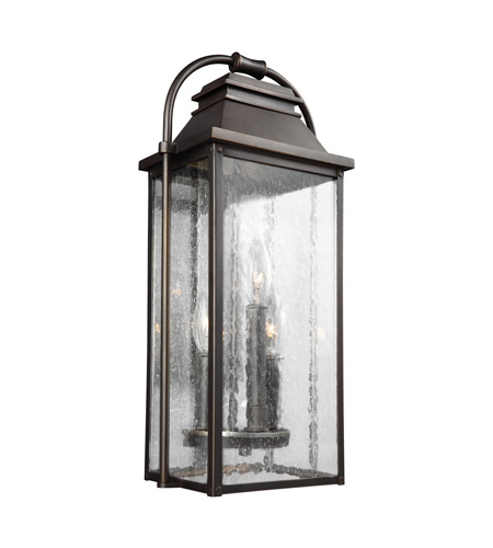 best sneakers c6aed 00cc3 Feiss OL13200ANBZ Wellsworth 3 Light 18 inch Antique Bronze Outdoor Wall  Lantern