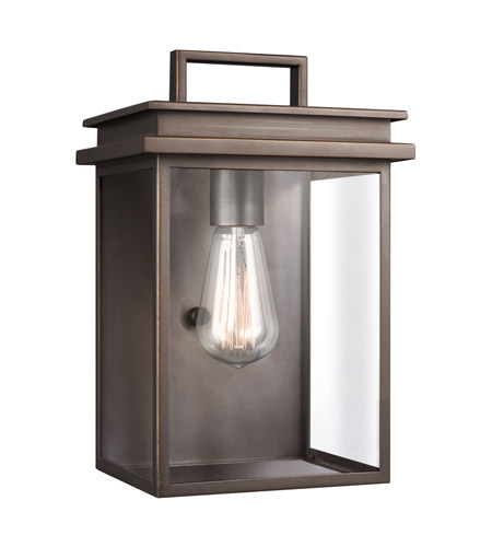 Feiss OL13601ANBZ Glenview 1 Light 12 inch Antique Bronze Outdoor Wall Lantern photo