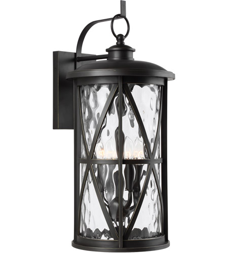 Feiss OL15204ANBZ Millbrooke 4 Light 27 inch Antique Bronze Outdoor Wall Lantern photo