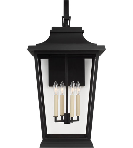Feiss Textured Black Outdoor Wall Lights