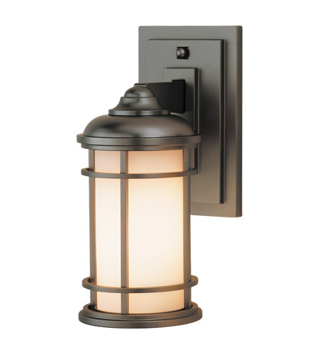 Feiss Lighthouse 1 Light Outdoor Wall Sconce in Burnished Bronze OL2200BB photo