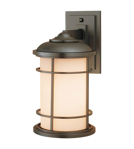 Feiss OL2201BB Lighthouse 1 Light 14 inch Burnished Bronze Outdoor Wall Sconce in Standard photo