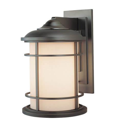 Feiss OL2202BB Lighthouse 1 Light 15 inch Burnished Bronze Outdoor Wall Sconce in Standard  photo