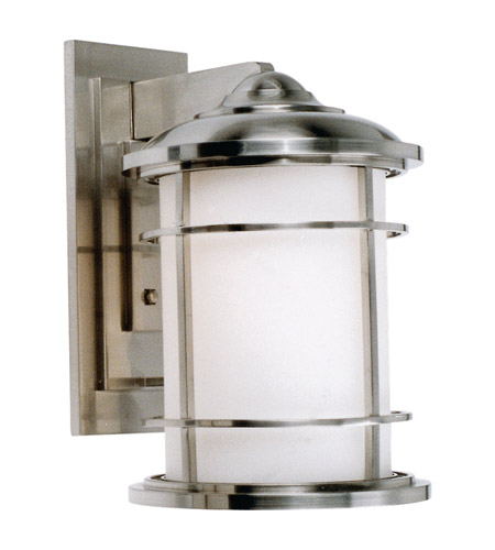 Feiss Lighthouse 1 Light Outdoor Wall Sconce in Brushed Steel OL2202BS photo