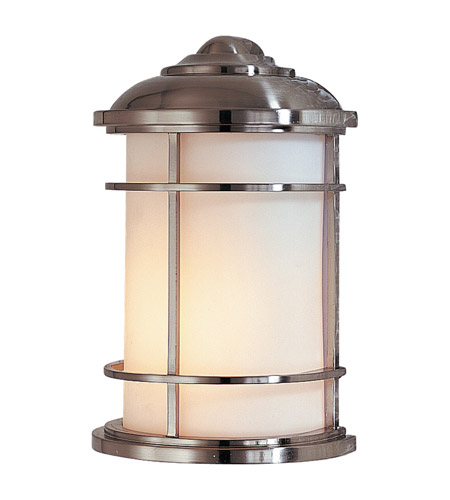 Feiss Lighthouse 1 Light Outdoor Wall Sconce in Brushed Steel OL2203BS photo