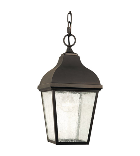 Feiss OL4011ORB Terrace 1 Light 8 inch Oil Rubbed Bronze Outdoor Hanging Lantern in Standard  photo